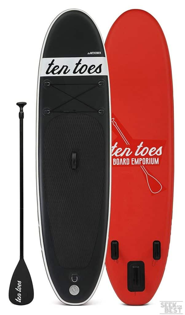 12. Ten Toes Weekender Inflatable Stand Up Paddle Board