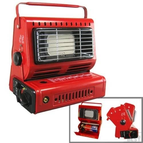 2. Tooluze Camping - Best Butane Heater