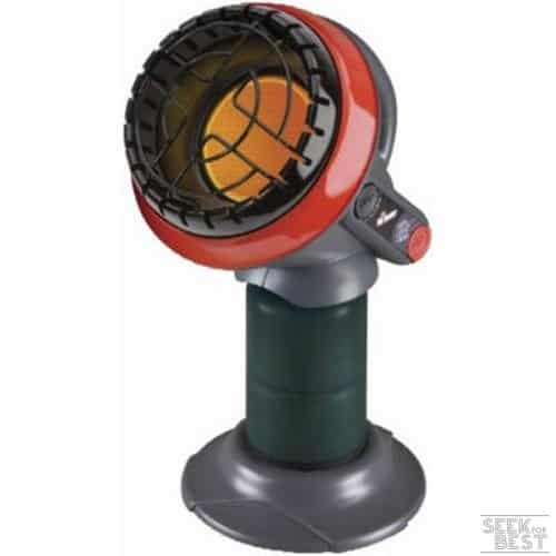 3. Mr. Heater F215100 MH4B Little Buddy 3800-BTU - Indoor Safe Propane Heater