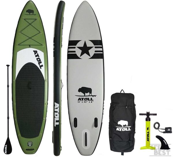 3. Atoll Stand up Paddle Board Set