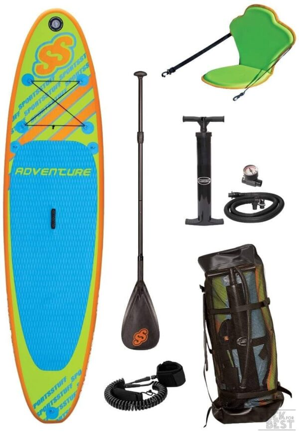 7. Sportstuff 1030 Adventure Stand Up Paddleboard