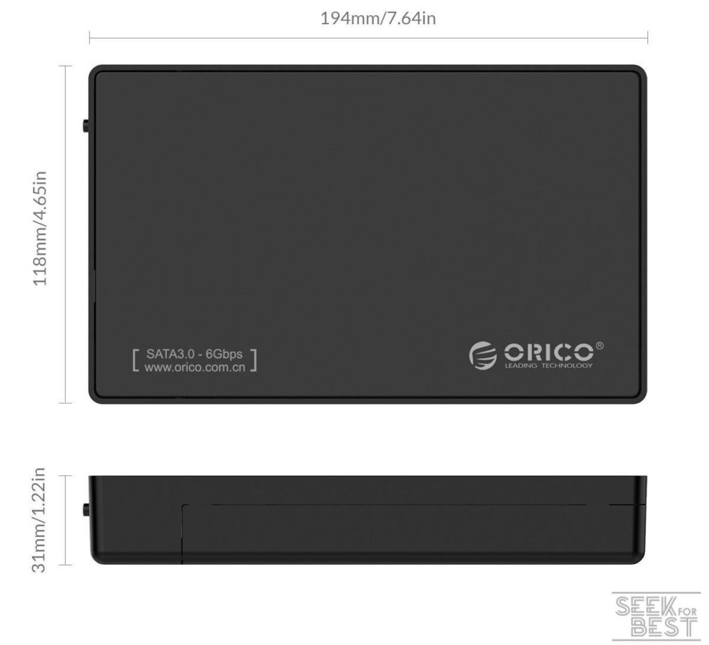 ORICO - External Hard Drive Enclosure