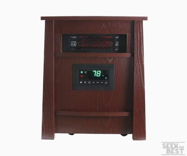 10. Lifesmart Life Lux Infrared Heater
