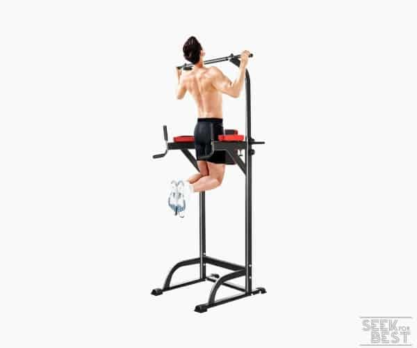 10. Wakrays Home Adjustable Chin Up Pull Up Bar Power Tower