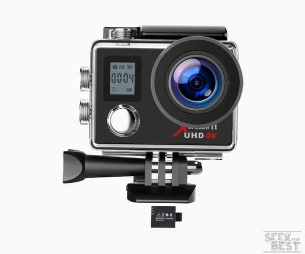 2. Campark ACT74 4k Action Camera review