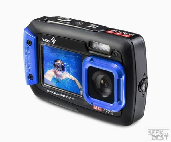 2. Ivation 20MP Underwater Shockproof Digital Camera Review