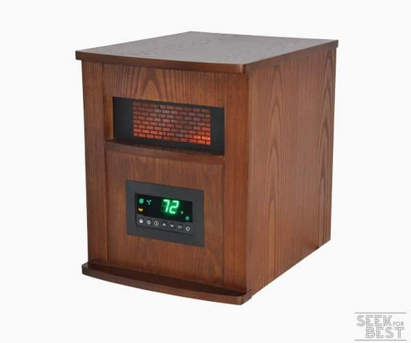 4. Lifesmart 1000X Infrared Heater