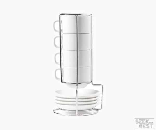 4. HUJI Stack-able Turkish Cups