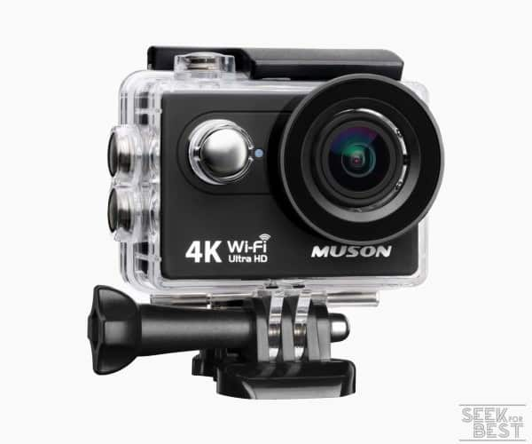 4. Muson MC2 4k Action Camera review