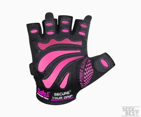 4. Women Gym Gloves by Grip Power Pads