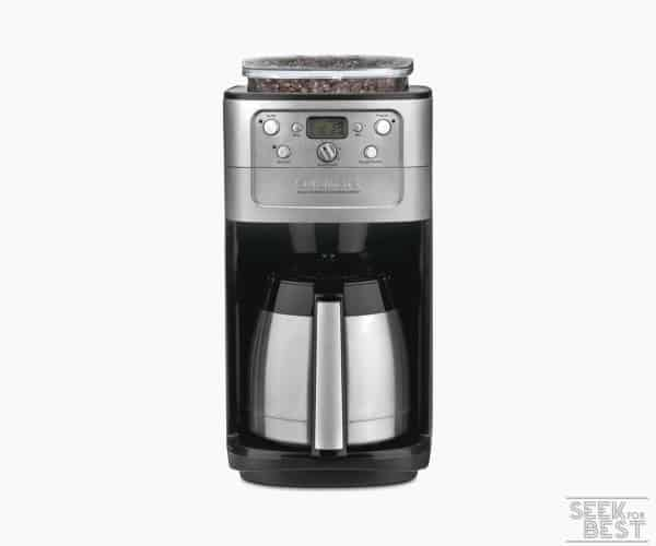 4. Best Mid-Range Coffee Maker with Grinder - Cuisinart DGB-900BC Grind & Brew Coffee Maker Review