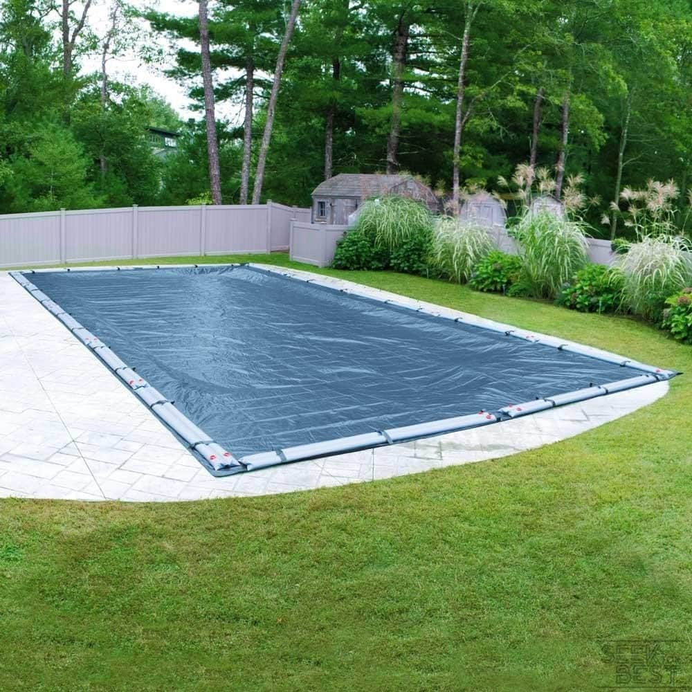 4. Pool Mate Blue Winter Pool Cover