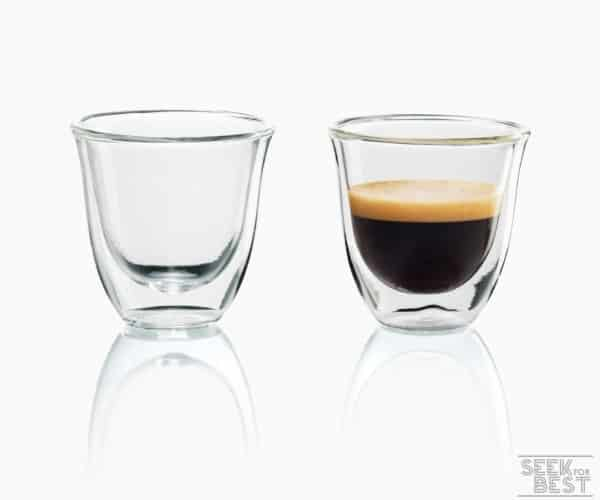 5. DeLonghi Double-walled Thermo Glasses