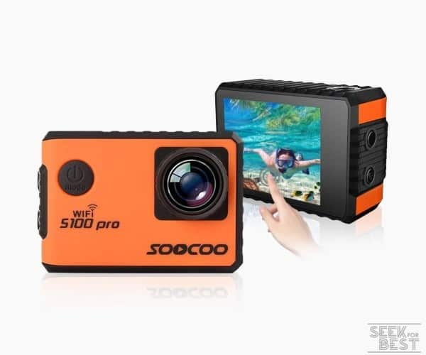 5. SOOCOO C30R 4k Action Camera review