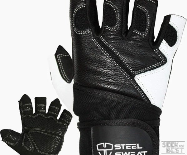 6. Steel Sweat Weightlifting Gloves