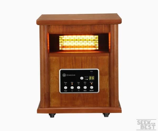 6. Homegear 1500 Infrared Heater