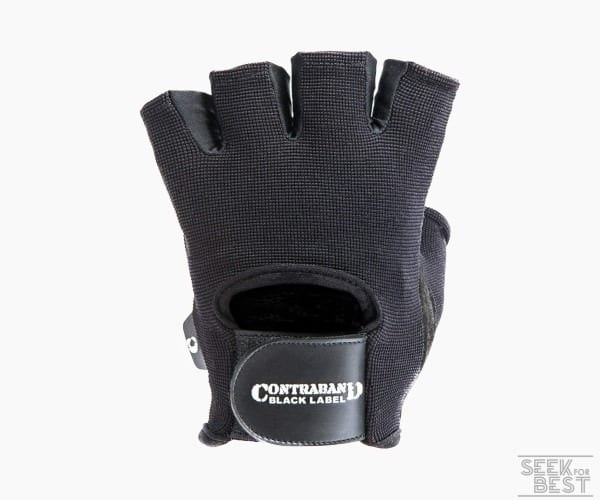 7. Contraband Black Label Basic Weight Lifting Gloves
