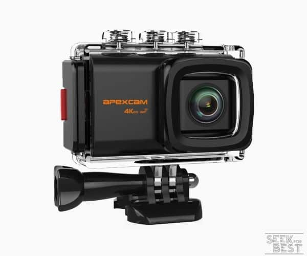 7. Apexcam Pro M80 4k Action Camera review