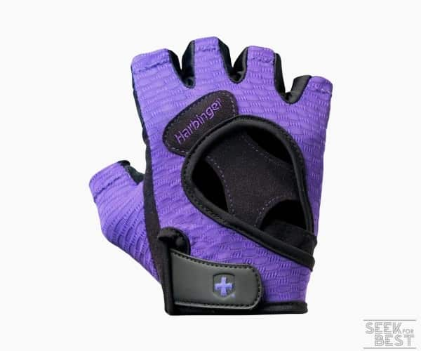 7. Harbinger Women's FlexFit Weight Lifting Gloves