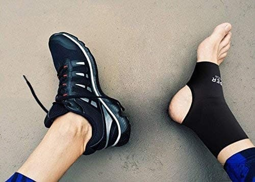 7. Copper Compression Recovery Ankle Sleeve