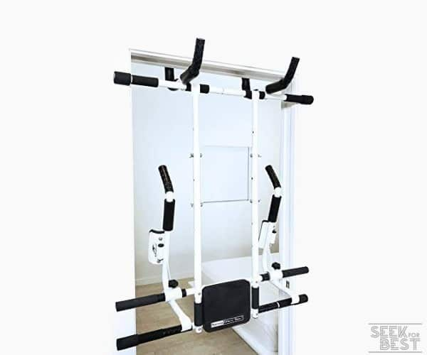 7. FITNATURAL Doorway Fitness Tower