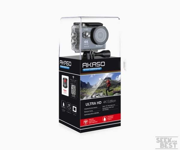 8. AKASO EK7000 4k Sports Action Camera review