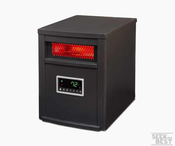 8. Lifesmart 1200 Square Foot Infrared Heater