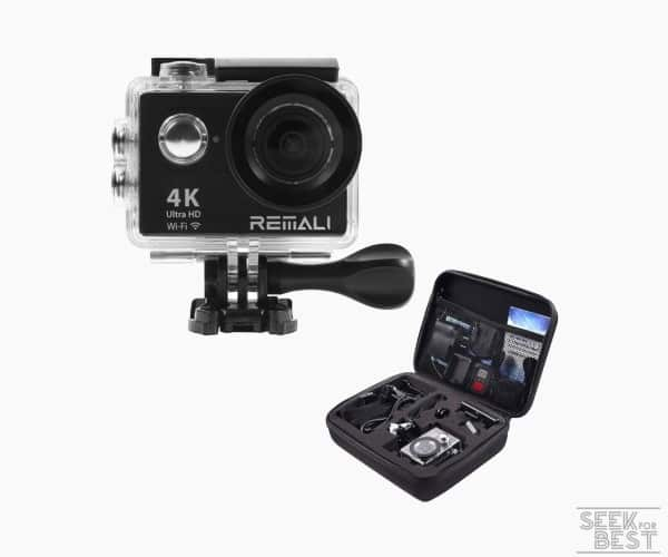 9. REMALI Sports Action Camera review