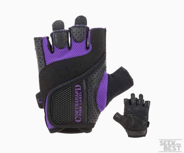 9. Contraband Pink Label Weight Lifting Gloves for Women