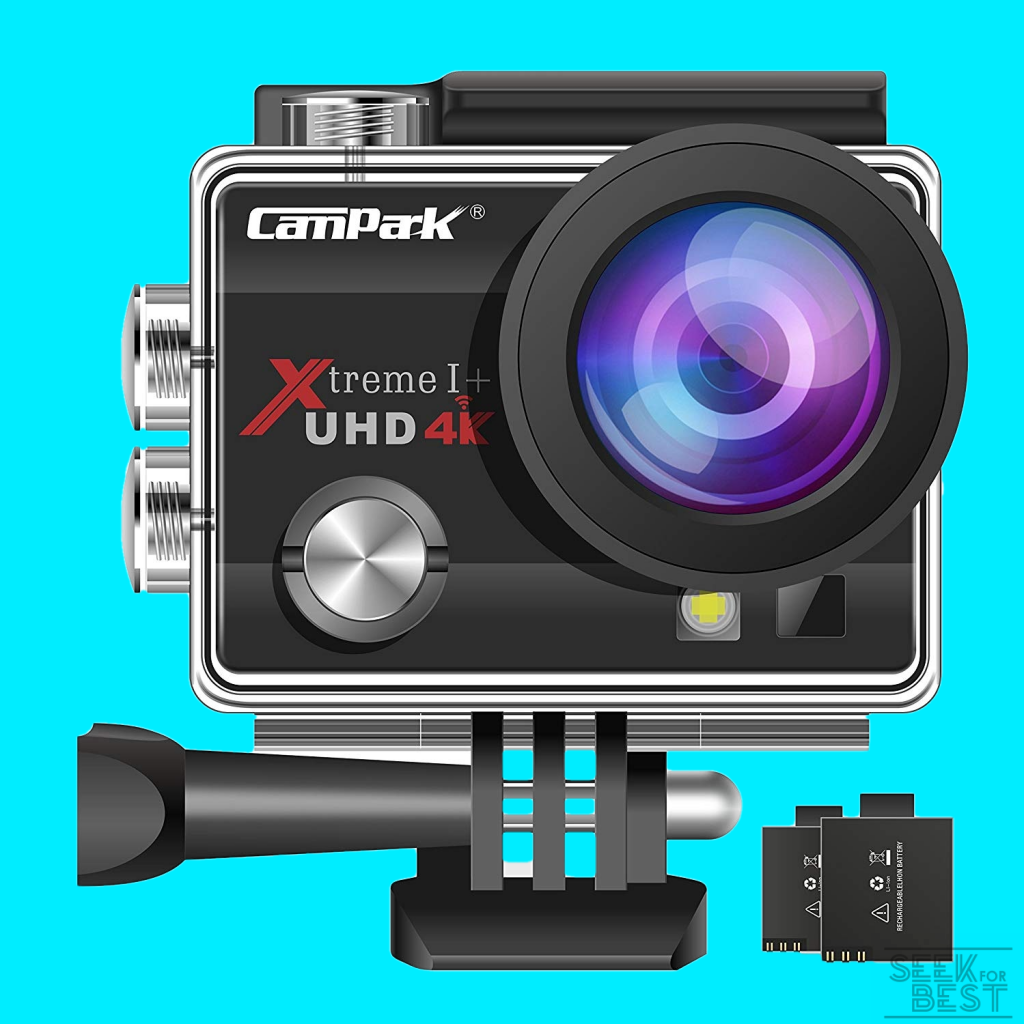 Campark ACT74 Action Camera 16MP 4K WiFi