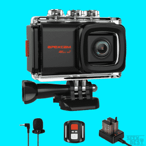 Apexcam 4K 20MP WiFi Action Camera EIS Ultra HD Sports Camera Underwater Waterproof 40M