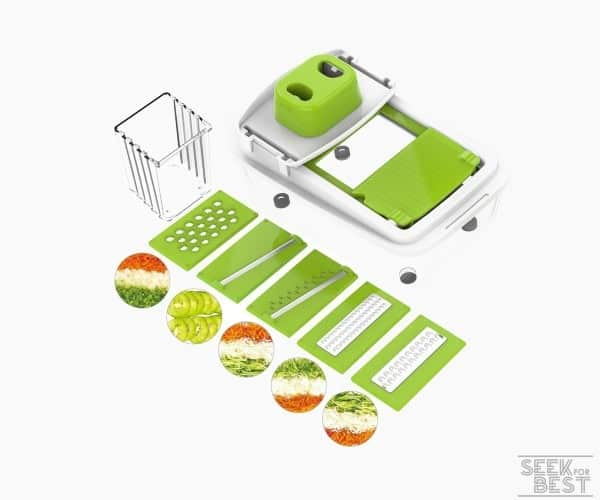 1. Vegetable Chopper Dicer Slicer Cutter by LOVKITCHEN review