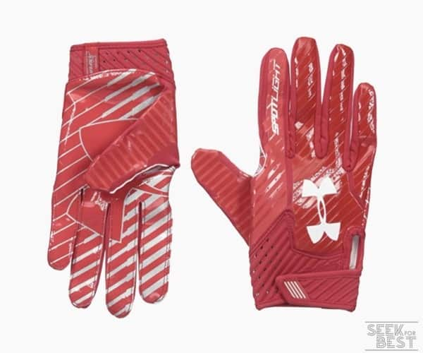 5. Under Armour Men's Spotlight Football Gloves