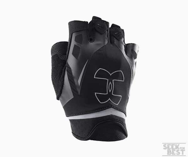 3. Under Armour Men's Flux Half-Finger Training Gloves