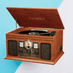 Victrola Nostalgic Classic Wood 6-in-1 Turntable Entertainment Center