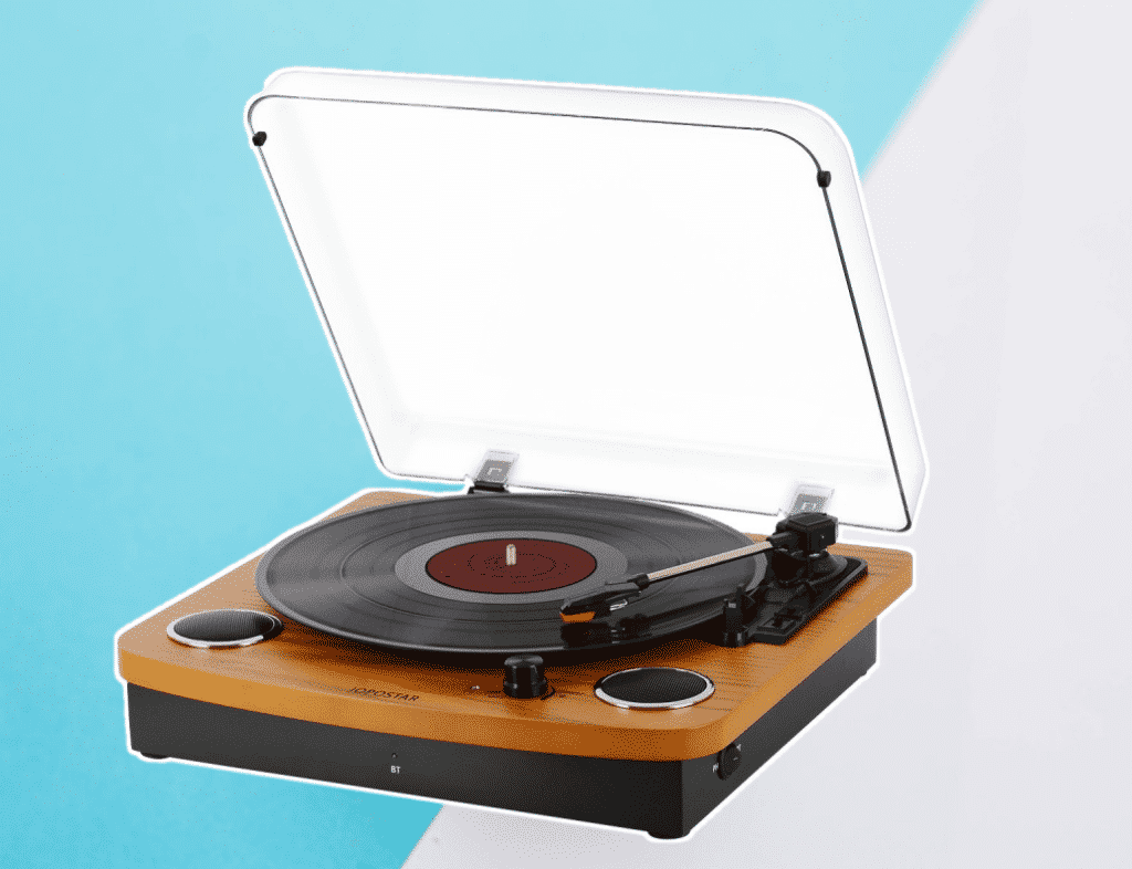 JOPOSTAR Vinyl Record Player