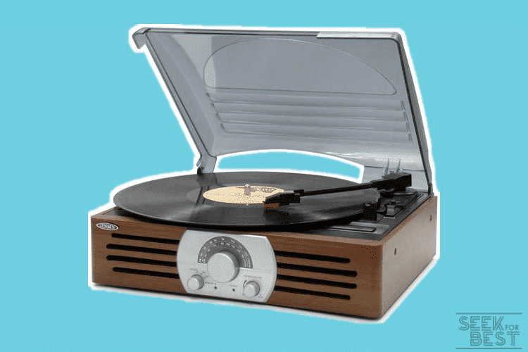Jensen JTA-222 Three-Speed Turntable