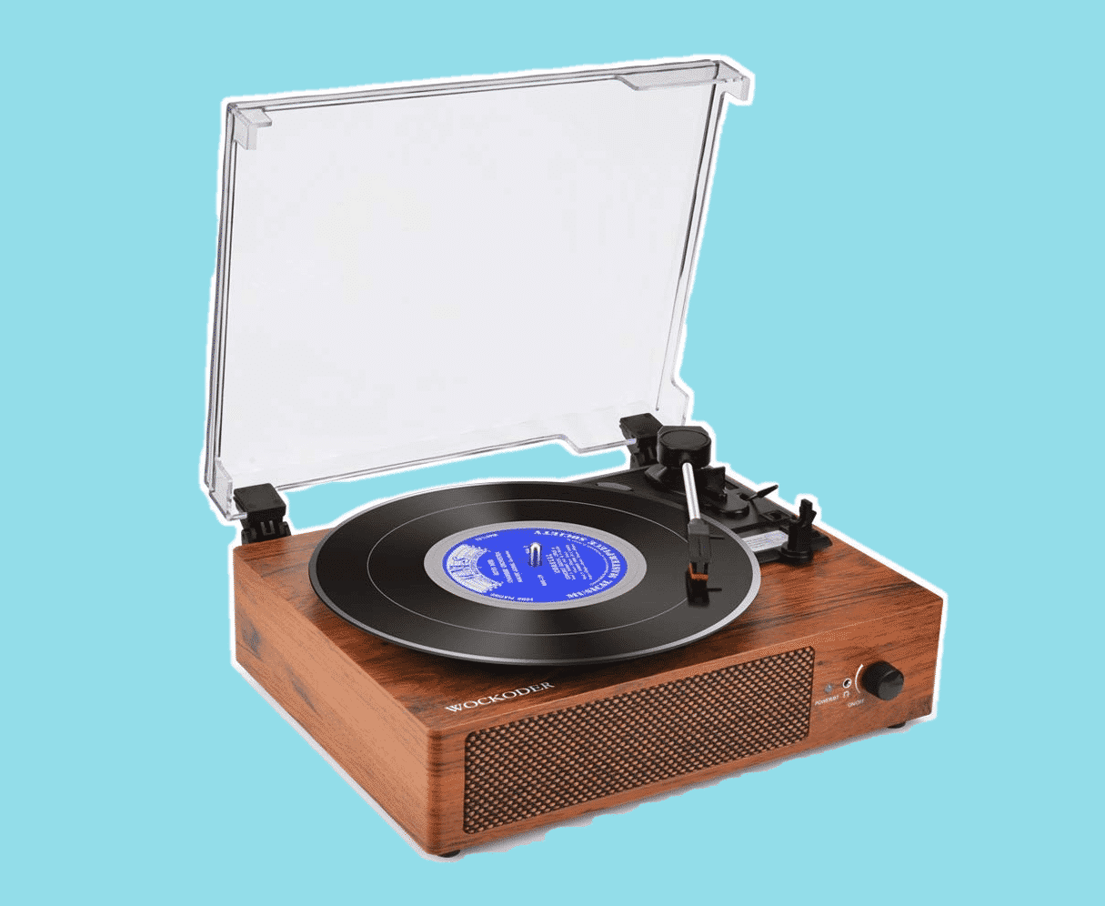 best all in one record players