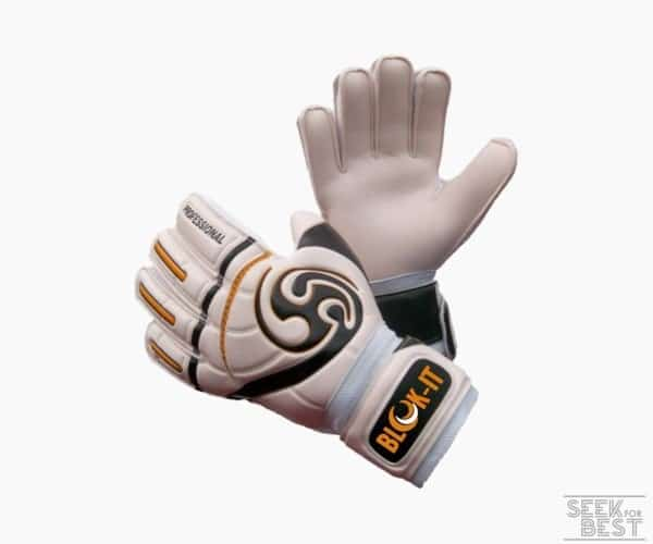 5. Goalkeeper Gloves by Blok-IT