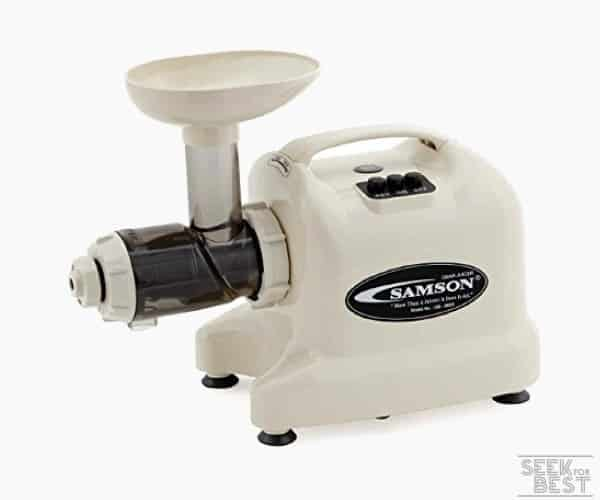 10. SAMSON 9005 ADVANCED WHEATGRASS JUICER
