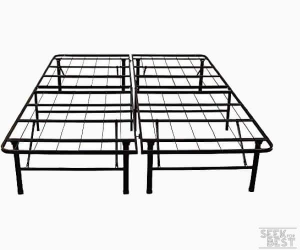 15. Classic Brands Hercules Heavy-Duty Metal Bed Frame for heavy people