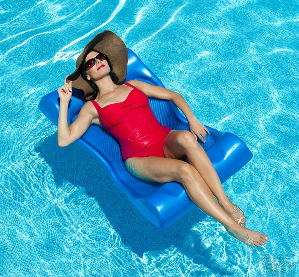 2. Aqua Cell Deluxe Hammock Pool Float