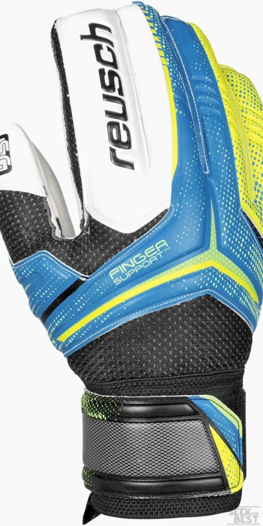 4. Reusch Soccer Receptor SG Finger Support Goalkeeper Glove