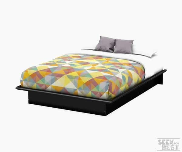 4. South Shore Platform Bed