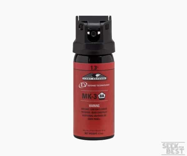 5. Defense Technology First Defense 360 MK-3 Steam OC Aerosol