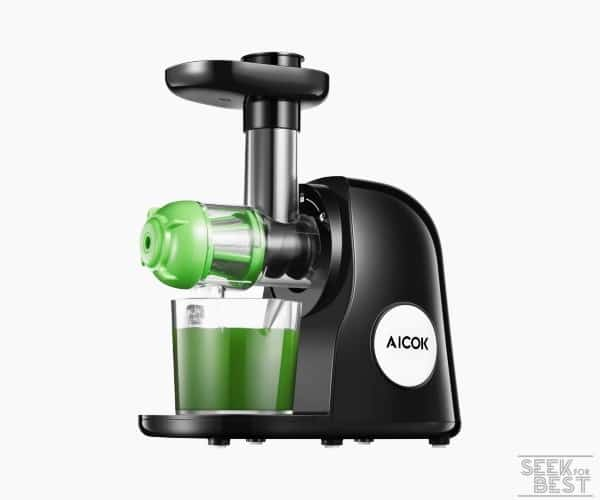6. AICOK MASTICATING JUICER