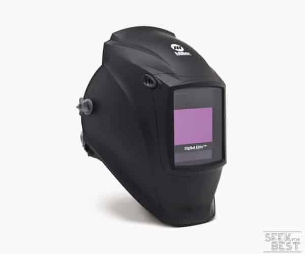 6. Miller 281000 Digital Elite Black Welding Helmet with Clear light Lens by Miller Electric (Premium)