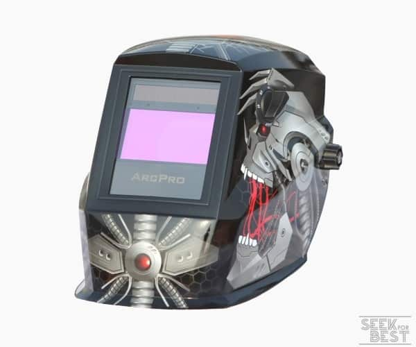 Arcpro 20704 auto Darkening Solar Powered Welding Helmet with Grind Mode