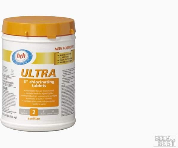 7. HTH Ultra Chlorinating Tablets for Pools