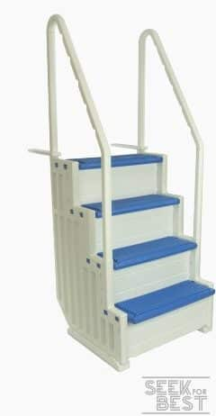 1. Confer Plastics Above-Ground Pool Ladder Review